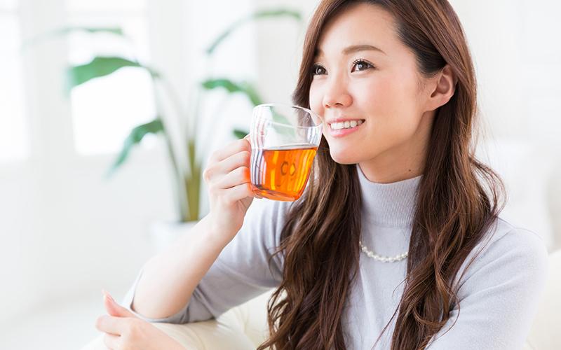 育毛にお茶が効果的?!